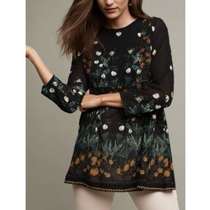 Anthropologie Ailanto Floral Top.